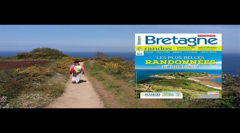 MEDIA :  Bretagne Magazine Randos 2018 est en kiosque !